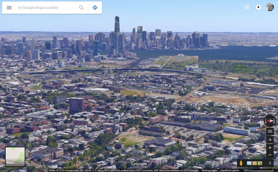 Google Maps wird schärfer