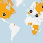 Karte zu Ländern, die Boris Johnson beleidigt hat