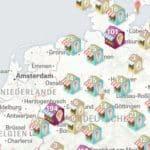 Karte aus der Zeit Online