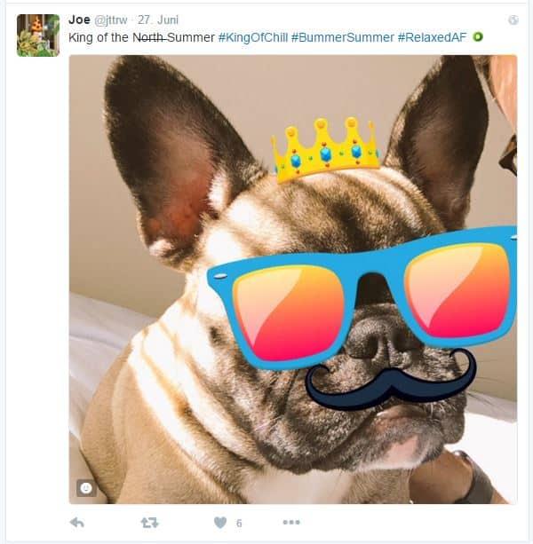 Sticker sind Twitters neue Hashtags