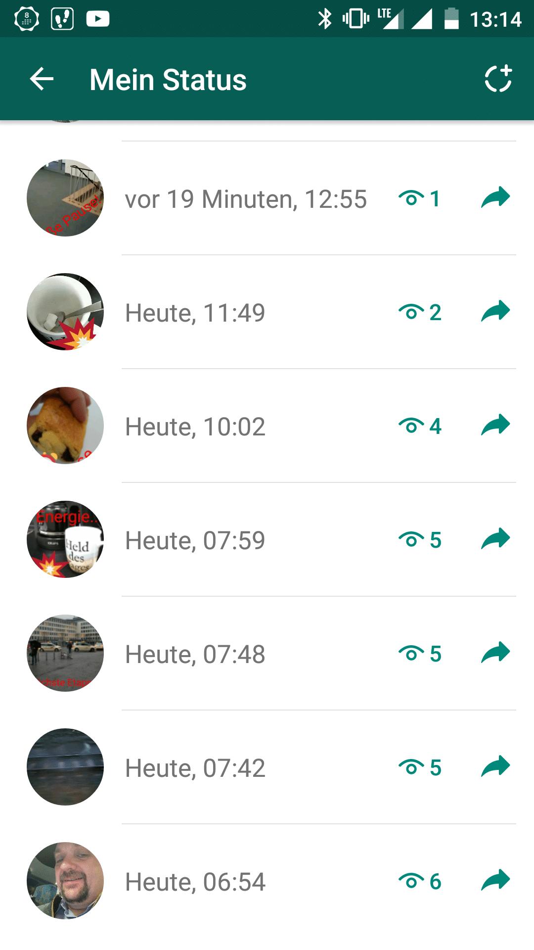 WhatsApp Stories: Der neue Status ist eine 1:1-Kopie der Snapchat Stories